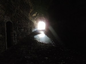 darkness tunnel